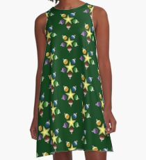 Ornamented Star A-Line Dress
