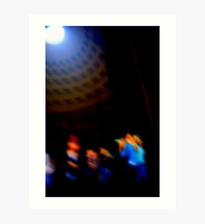 PANTHEON DANCERS Art Print