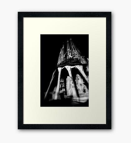 SAGRADA FAMILIA Framed Print