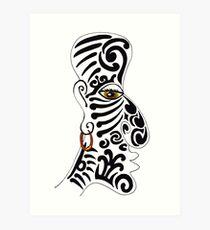 1a3805ccf Maori Drawing Art Prints | Redbubble
