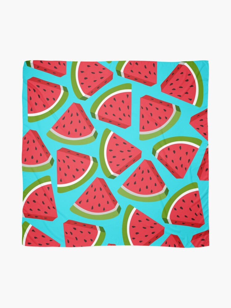 Alternate view of Watermelon Pattern Scarf