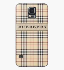 Burberry gegründet 2 Hülle & Klebefolie für Samsung Galaxy
