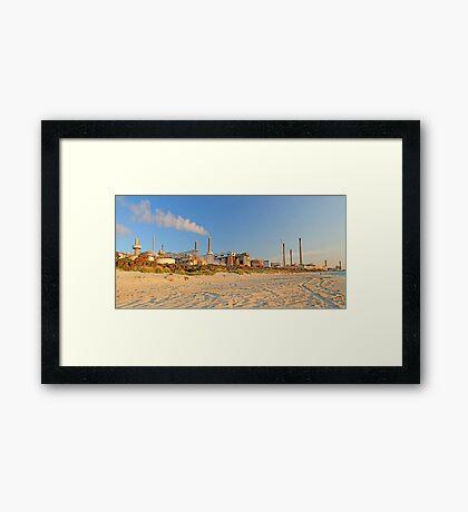Challenger Beach - kwinana Western Australia  Framed Print