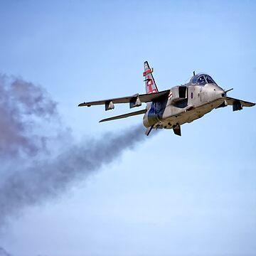 Royal Air Force Sepecat Jaguar GR. MK3 by AndyHkr
