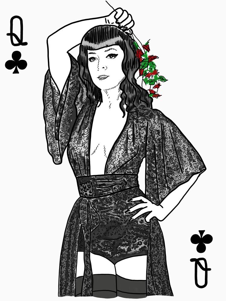 Queen of Clubs  by fullrangepoker