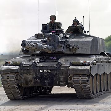 British Army Challenger 2 Main Battle Tank  by AndyHkr