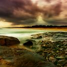 Storming At crowdy head by Rodney Trenchard