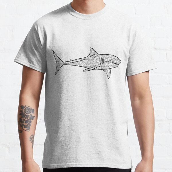 Poker Shark Fish Classic T-Shirt