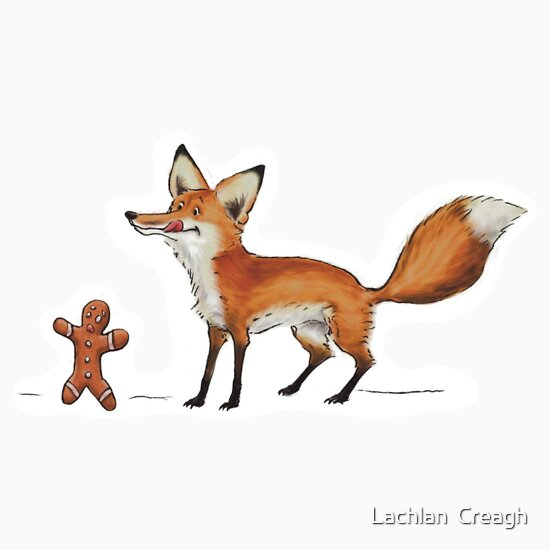 TShirtGifter presents: GingerBread Fox