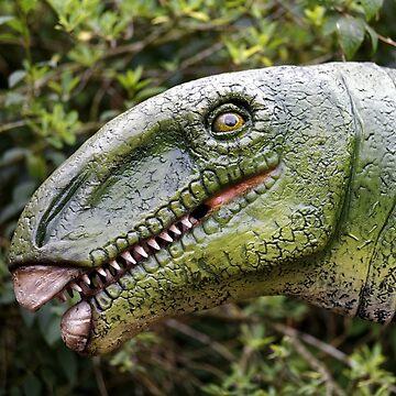 Therizinosaurus 'Scythe Lizard' Dinosaur by AndyHkr