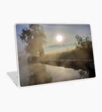 First Frosty Morning at Clifton-Upon-Dunsmore Laptop Skin
