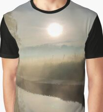 First Frosty Morning at Clifton-Upon-Dunsmore Graphic T-Shirt