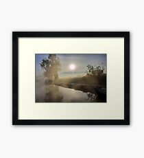First Frosty Morning at Clifton-Upon-Dunsmore Framed Print