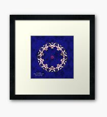 ANGELS SURROUND THEE Framed Print