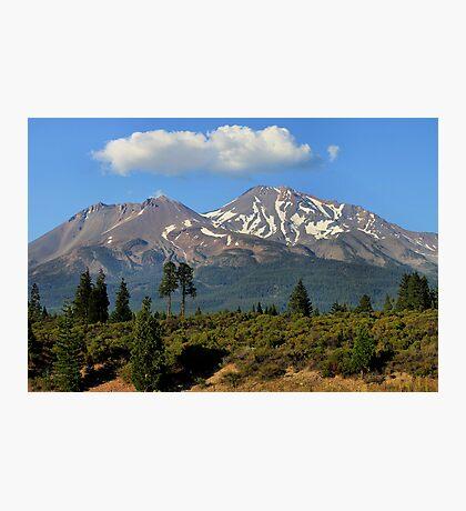 Mt. Shasta Photographic Print