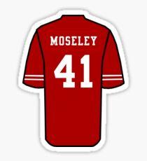 Emmanuel Moseley Jersey Sticker