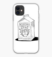 MISSING - Rick Sanchez (Rick and Morty) iPhone Case