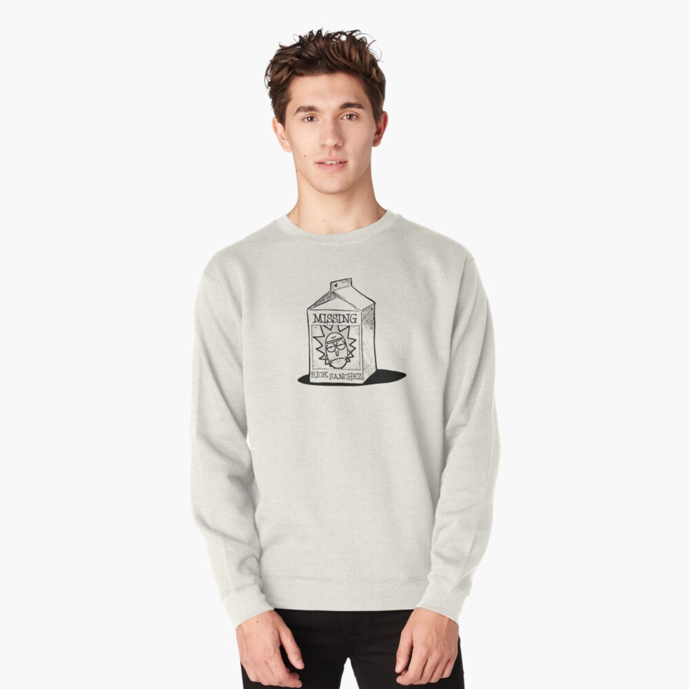 MISSING - Rick Sanchez (Rick and Morty) Pullover Sweatshirt