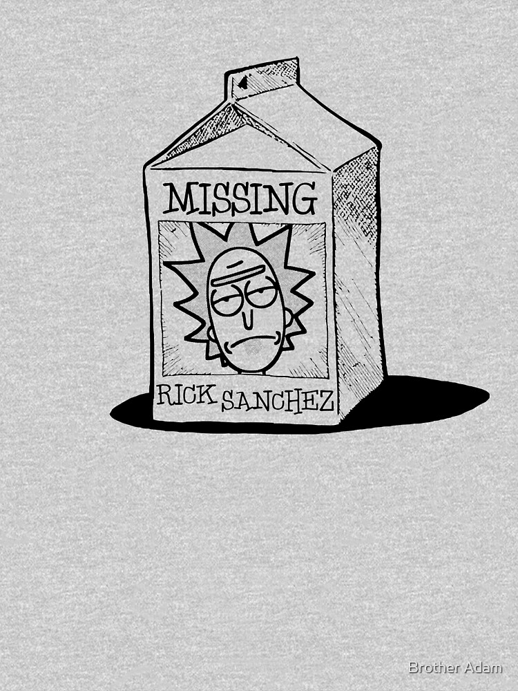 MISSING - Rick Sanchez (Rick and Morty) by atartist