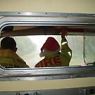 We had an elf in our fire truck  by lulisa
