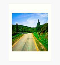 Dorothy's Alternative Route Art Print
