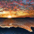 Sunset - Beautiful Ocean View  by Shmuel Bell