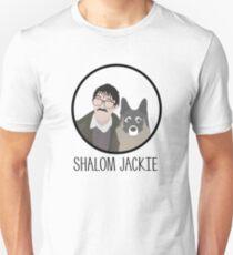 """Camiseta unisex Cena del viernes por la noche // """"Shalom Jackie"""" - Jim and Wilson Design"""