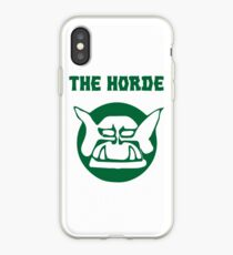 the horde iPhone Case