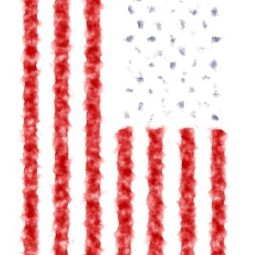 Distressed American Flag by sweetsixty