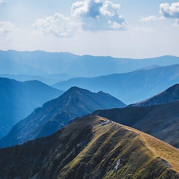 flying around in the mountains  by monicamarcov