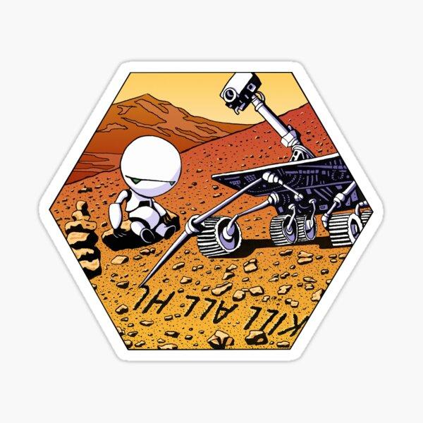 Mars revolution Sticker