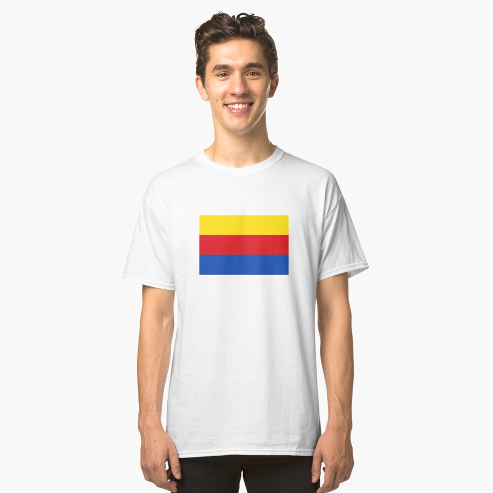 North Holland Flag Classic T-Shirt Front