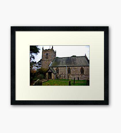 The Church - Nunnington. Framed Print