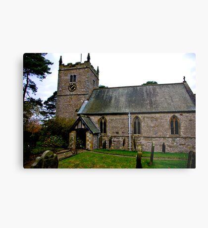 The Church - Nunnington. Metal Print