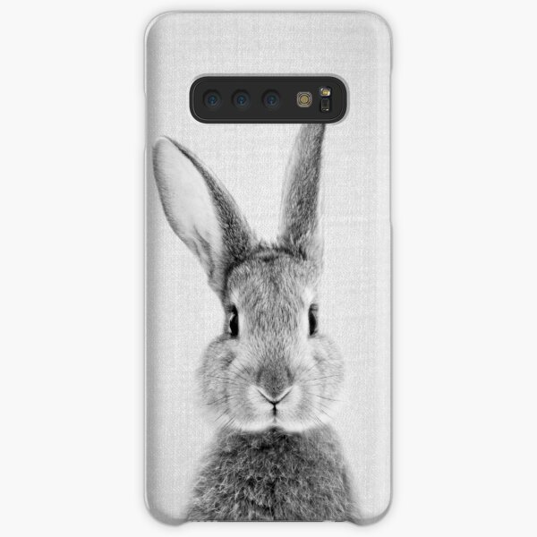 Rabbit - Black & White Samsung Galaxy Snap Case