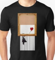 BANKSY GIRL WITH BALLOON SELF DESTRUCTS Unisex T-Shirt