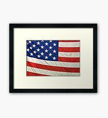 Flag Framed Print