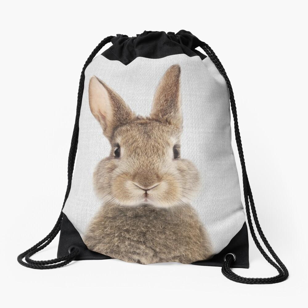 Rabbit - Colorful Drawstring Bag