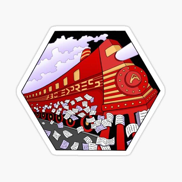 Education Train Sticker