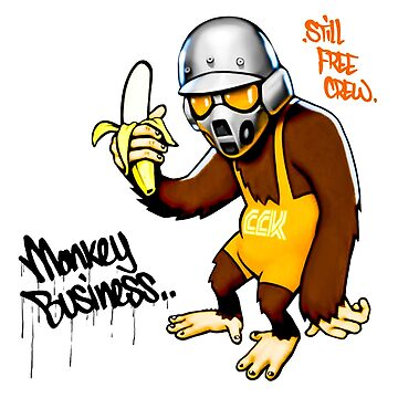 Monkey Business by cybermall