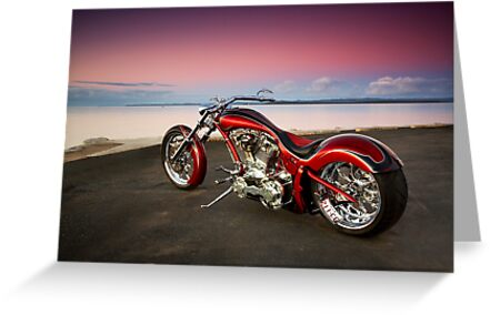 Custom Chopper by Tony Rabbitte
