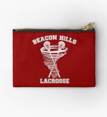 Beacon Hills Lacrosse (white) Studio Pouch