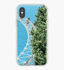 Green and Blue London iPhone Case