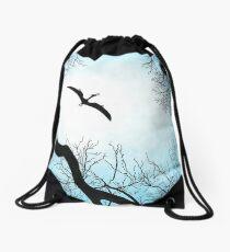 Migratory birds Drawstring Bag