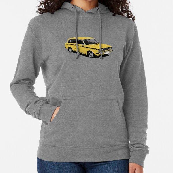 DAF 66 Combi - illustration - jaune Sweat à capuche léger