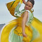 Folklorico Swirl by Linda Sparks