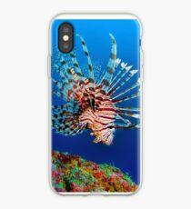 Lionfish at Apo Reef iPhone Case