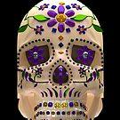 Dia De Los Muertos Sugar Skull by apadilladesign