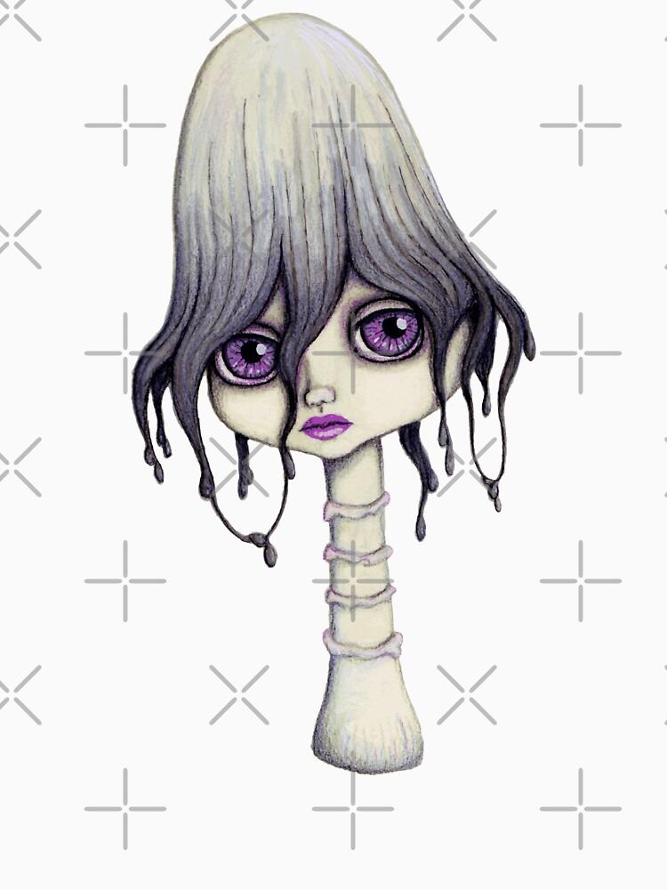 Mushroom Girl by LittleMissTyne