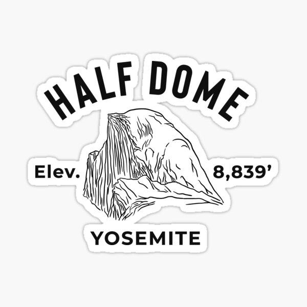 Yosemite National Park Half-Dome Sticker